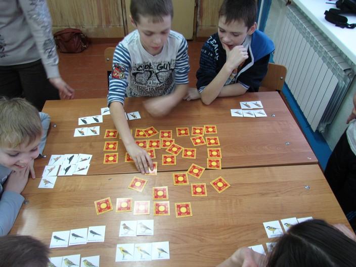 Экологическая игра «Веда» с учениками посёлка Бор