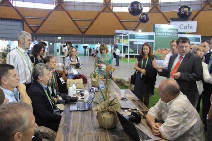 Шестой Всемирный конгресс по особо охраняемым природным территориям в Сиднее