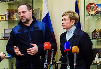 встреча с губернатором Мурманска