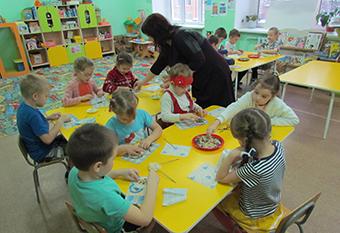 Занятия с дошколятами