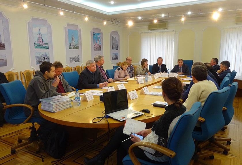 Заседание экспертной рабочей группы